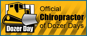 Official Chiropractor of Dozer Days